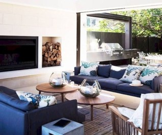 Superb Warm Family Room Design Ideas For This Winter 37