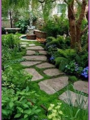 Unordinary Diy Pavement Molds Ideas For Garden Pathway To Try 05