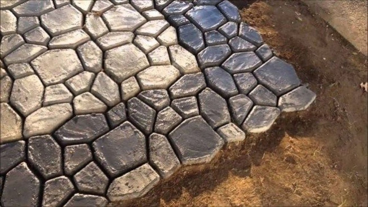 Unordinary Diy Pavement Molds Ideas For Garden Pathway To Try 15