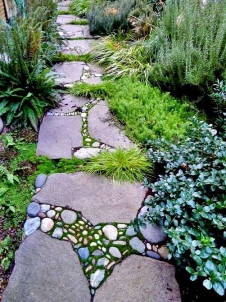 Unordinary Diy Pavement Molds Ideas For Garden Pathway To Try 23