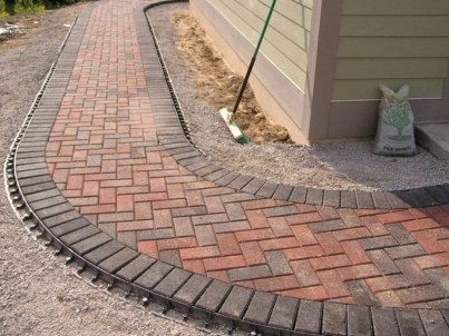 Unordinary Diy Pavement Molds Ideas For Garden Pathway To Try 31
