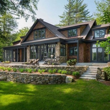 Attractive Lake House Decorating Ideas For You 44