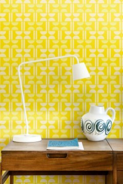Awesome Retro Wallpaper Decor Ideas To Try 16