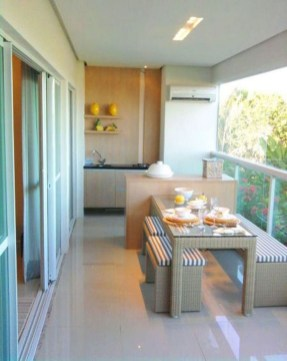 Comfy Kitchen Balcony Design Ideas That Looks Cool 06