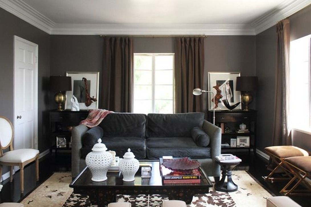 Cozy Masculine Living Room Design Ideas To Try 04