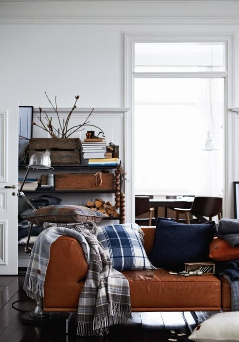 Cozy Masculine Living Room Design Ideas To Try 07