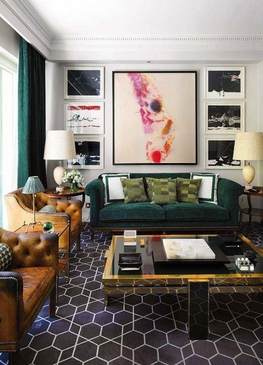 Cozy Masculine Living Room Design Ideas To Try 13