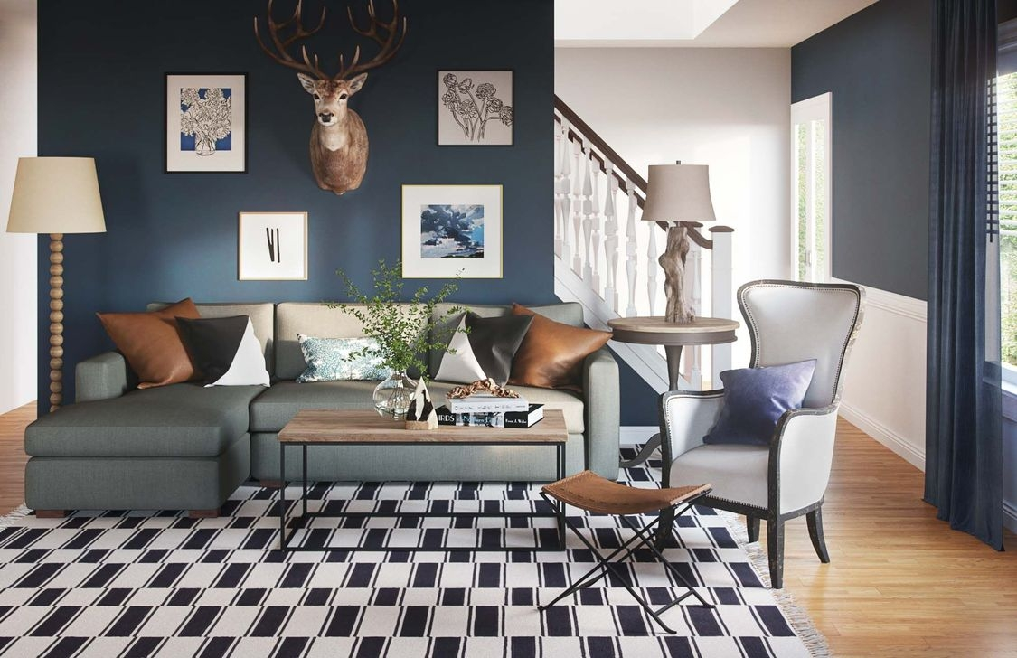 Cozy Masculine Living Room Design Ideas To Try 21