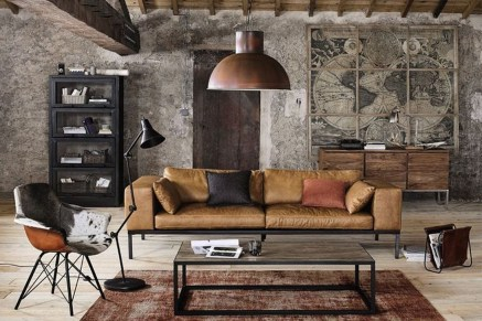 Cozy Masculine Living Room Design Ideas To Try 26