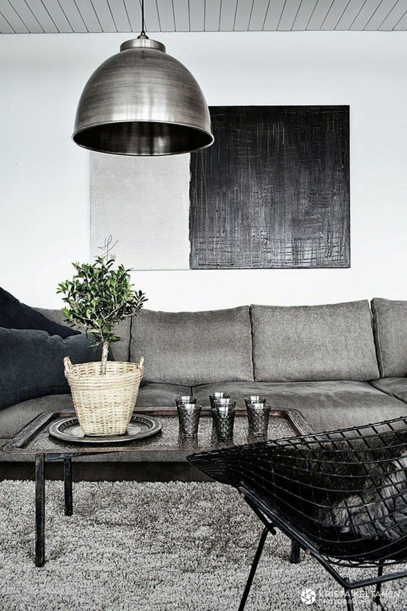 Cozy Masculine Living Room Design Ideas To Try 34