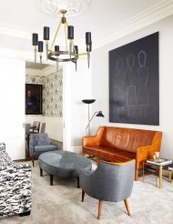 Cozy Masculine Living Room Design Ideas To Try 36