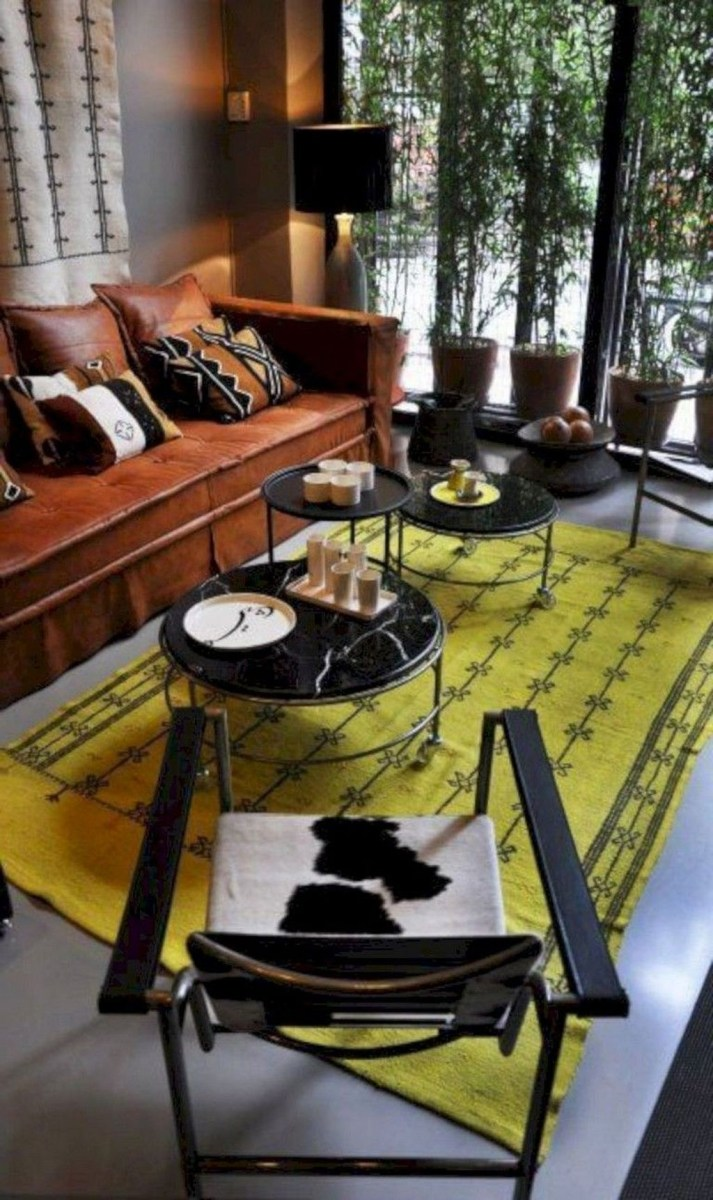 Cozy Masculine Living Room Design Ideas To Try 38