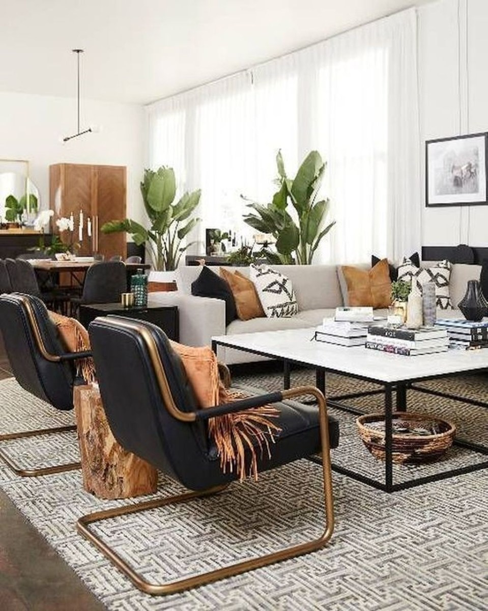 Cozy Masculine Living Room Design Ideas To Try 42