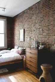 Delicate Exposed Brick Wall Ideas For Interior Home Design 02