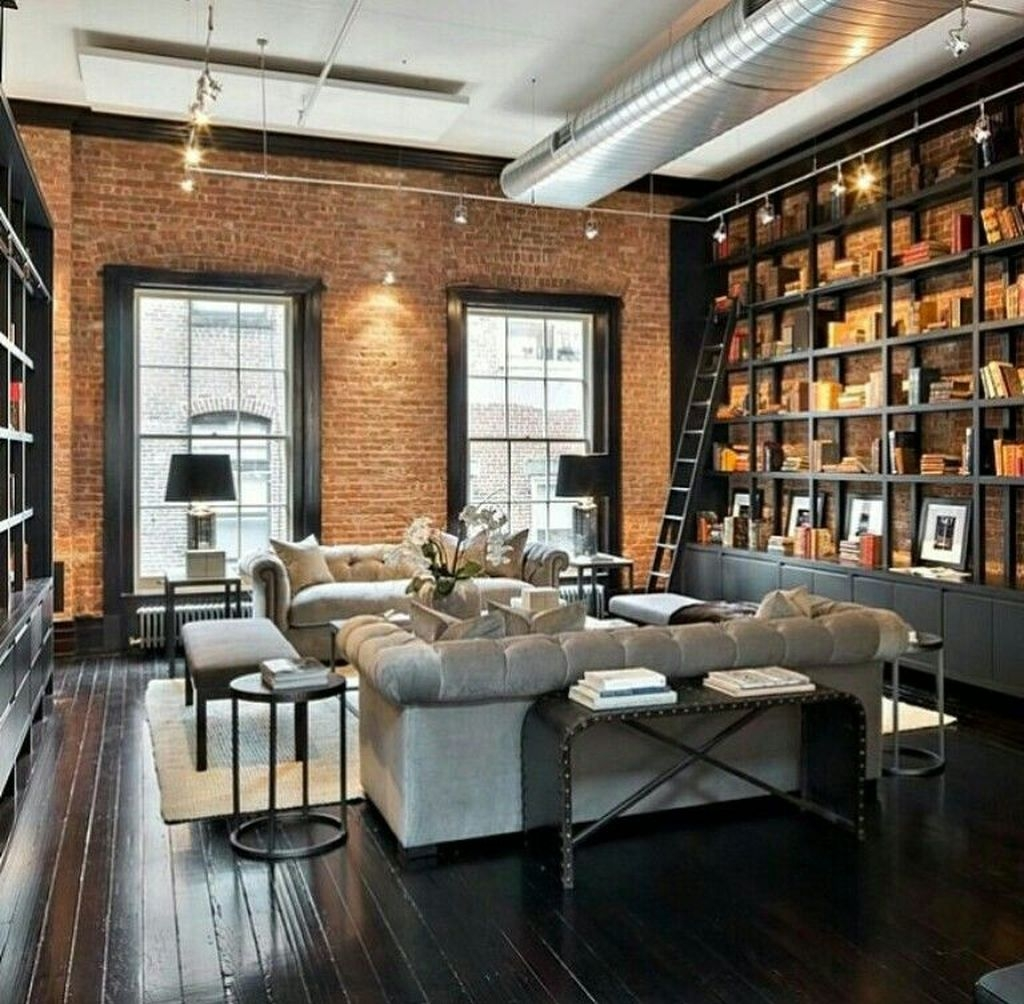 20+ Delicate Exposed Brick Wall Ideas For Interior Home ... on Brick Wall Decorating Ideas  id=70536
