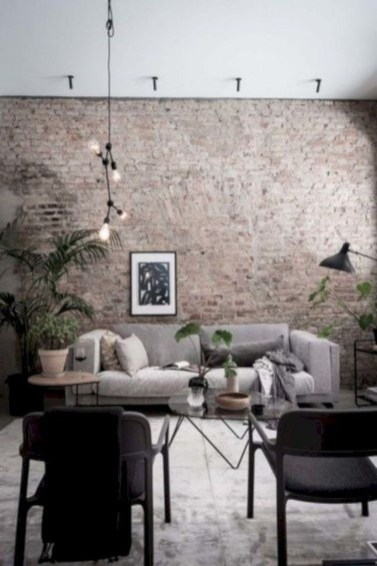 Delicate Exposed Brick Wall Ideas For Interior Home Design 47
