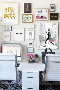 Delightful Home Office Design Ideas For Women 10
