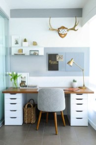 Delightful Home Office Design Ideas For Women 11