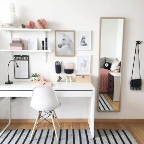 Delightful Home Office Design Ideas For Women 12