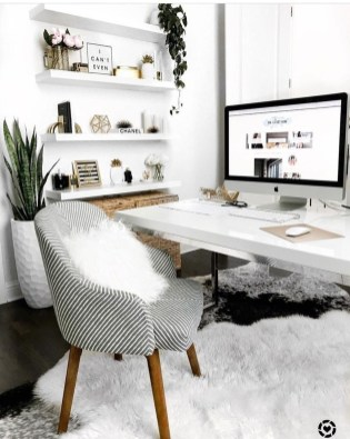 Delightful Home Office Design Ideas For Women 17