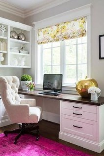 Delightful Home Office Design Ideas For Women 30