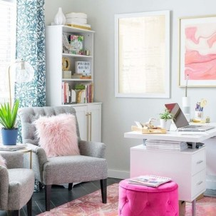 Delightful Home Office Design Ideas For Women 39