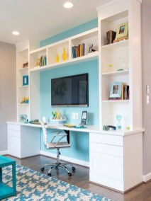 Delightful Home Office Design Ideas For Women 49