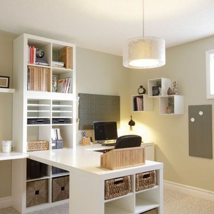 Delightful Home Office Design Ideas For Women 53