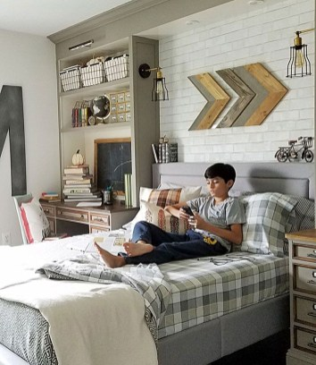 Excellent Teenage Boy Room Décor Ideas For You 06