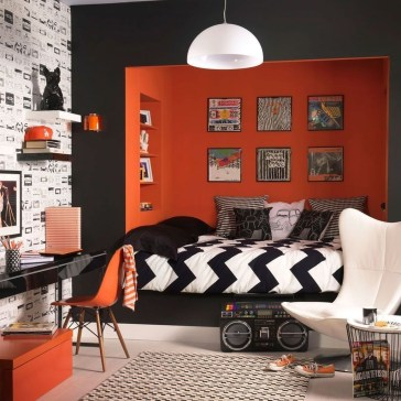 Excellent Teenage Boy Room Décor Ideas For You 29