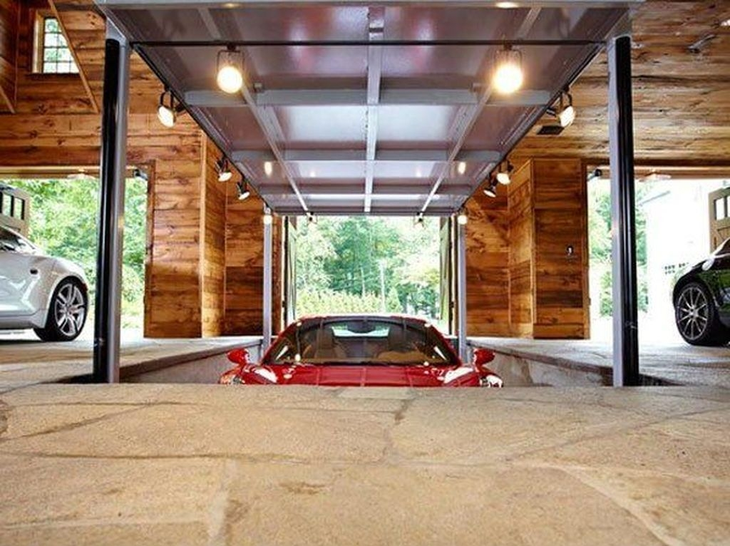 30 Graceful Car Garage Design Ideas For Your Home Coodecor