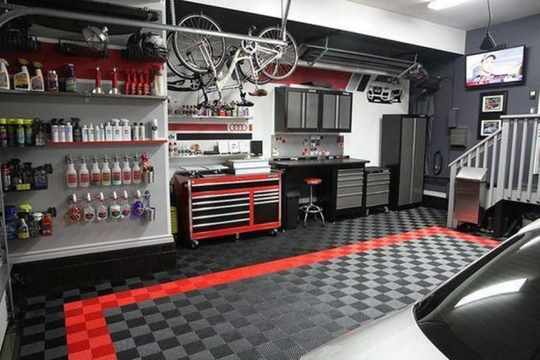 Graceful Car Garage Design Ideas For Your Home 38