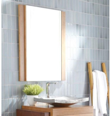 Newest Bathroom Mirror Decor Ideas To Try 04