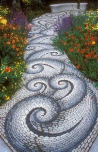 Popular Garden Path And Walkway Ideas To Your Outdoor Space 02