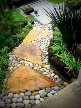 Popular Garden Path And Walkway Ideas To Your Outdoor Space 49