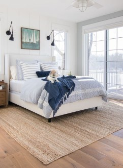 Top Blue Master Bedroom Design Ideas That Looks Great 15