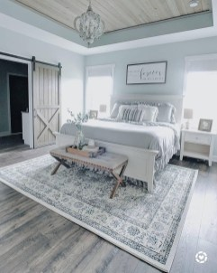 Top Blue Master Bedroom Design Ideas That Looks Great 22