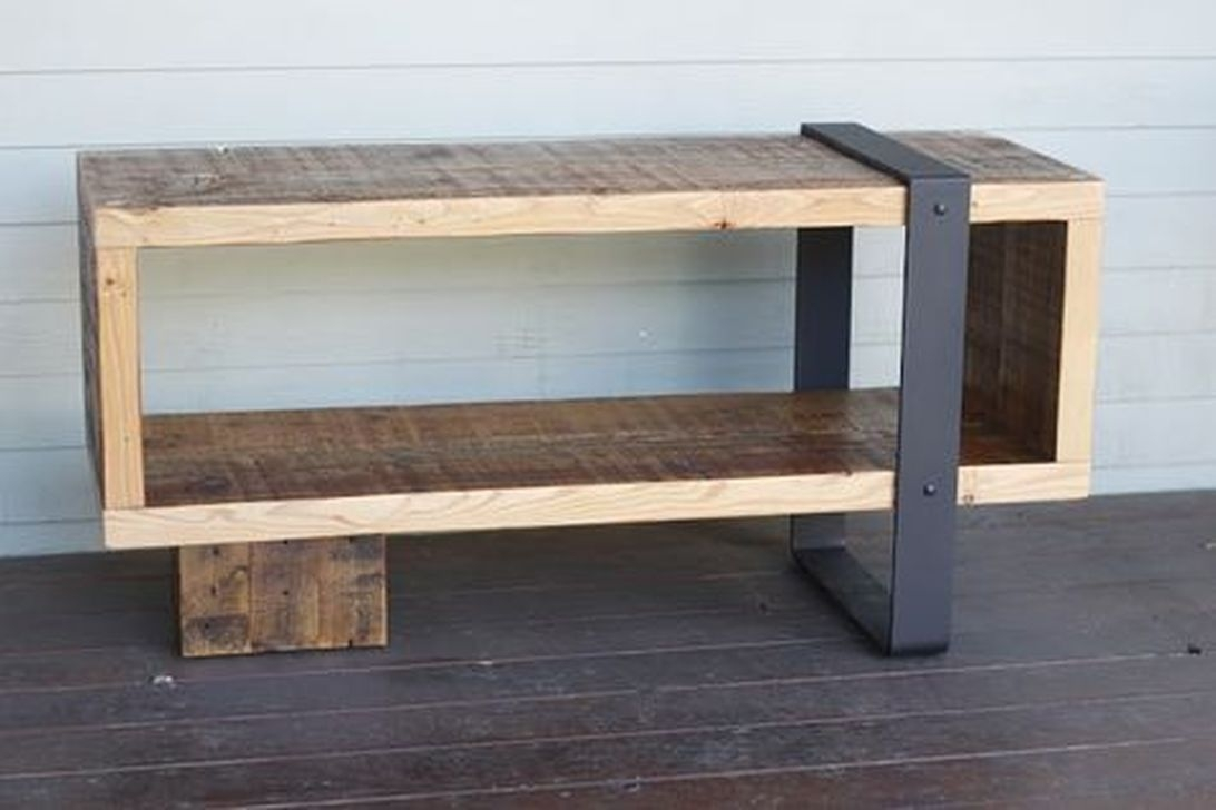 Trendy Wood Industrial Furniture Design Ideas To Try 11