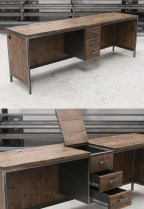 Trendy Wood Industrial Furniture Design Ideas To Try 42