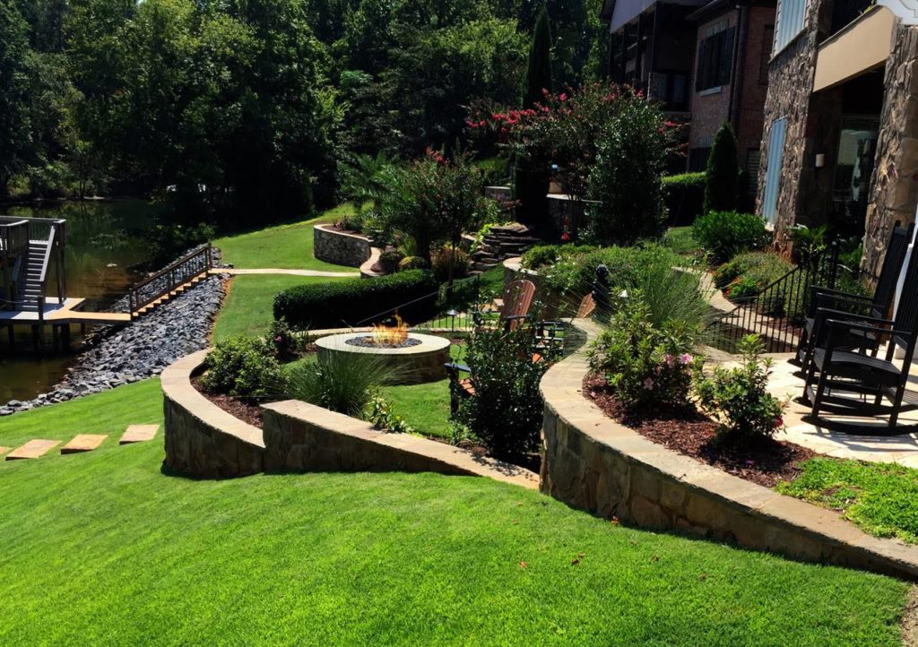 Hardscape Ideas for Large Backyards | Coogans Design Build on Tiered Yard Ideas  id=72160