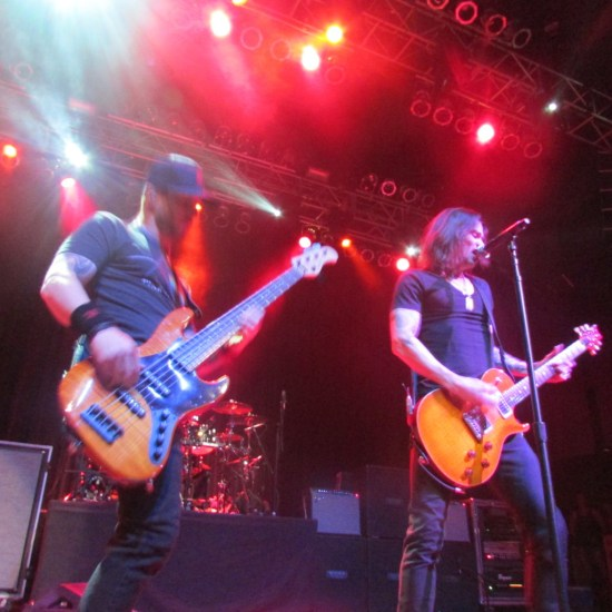Brian Marshall and Myles Kennedy of Alter Bridge Live at the House of Blues Houston