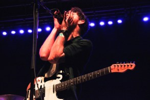 Lead singer from Twin Atlantic performing. (Photo by Rupal Mehta)