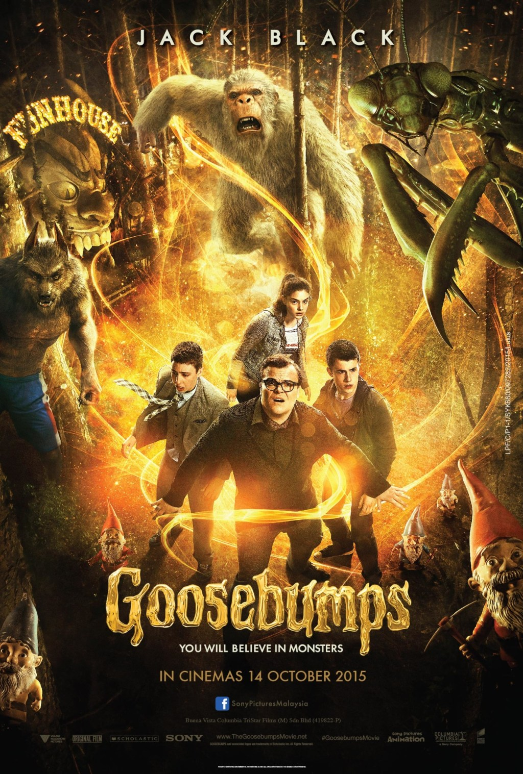 ad8ca31e5511 Movie Review and Interview with the Cast of Goosebumps