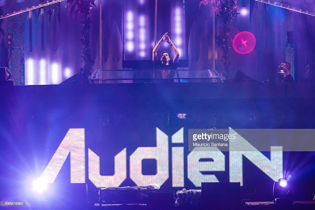 Audien performs during EDC Electric Daisy Carnival at Autodromo de Interlagos on December 04, 2015 in Sao Paulo, Brazil. (Photo by Mauricio Santana/Getty Images)