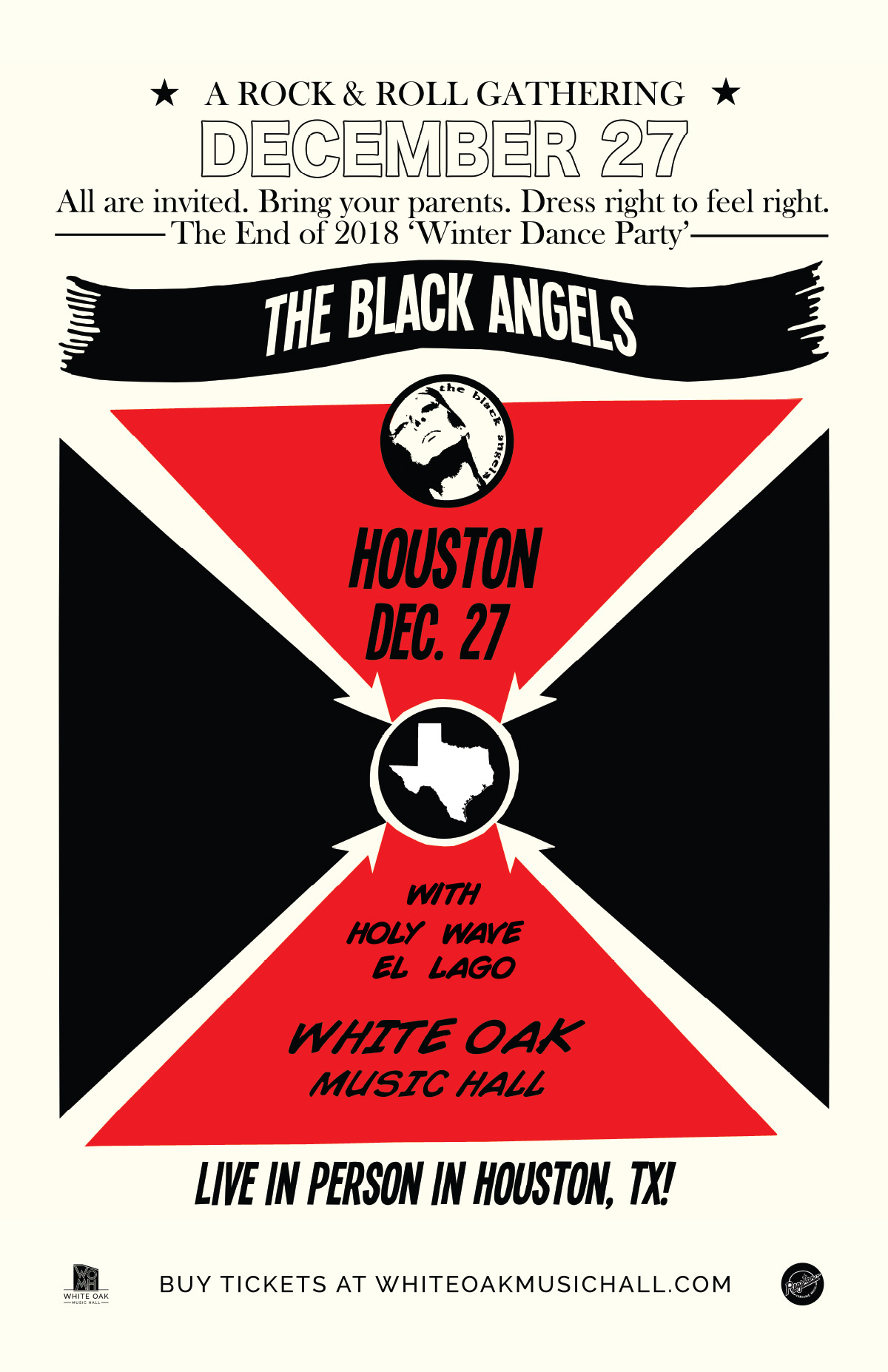 The Black Angels' Rock & Roll Gathering at White Oak Music Hall