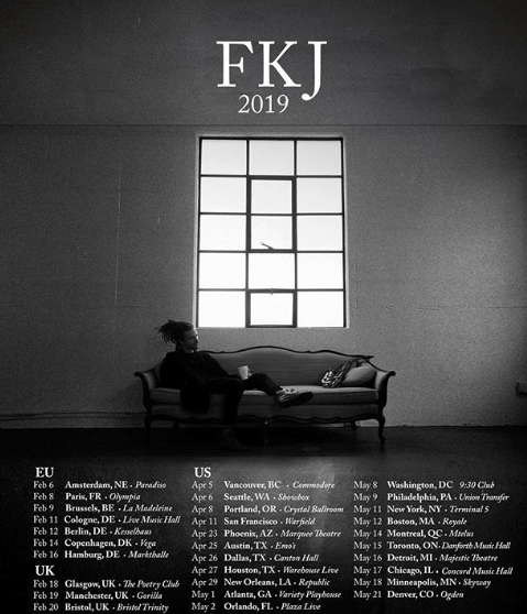 FKJ Coming to Houston
