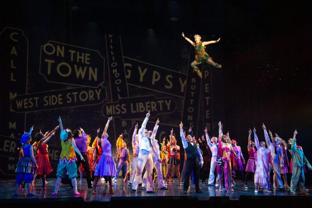 The Cast of the TUTS production of Jerome Robbins' Broadway. Photo Credit: Erick Velazquez.