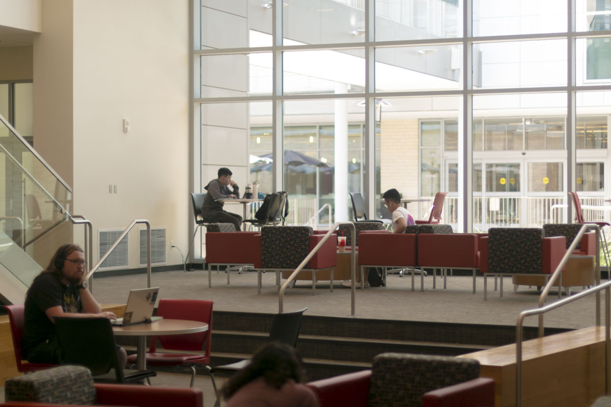 The Cougar: Audio Edition – Great campus spots for casual or intense studying