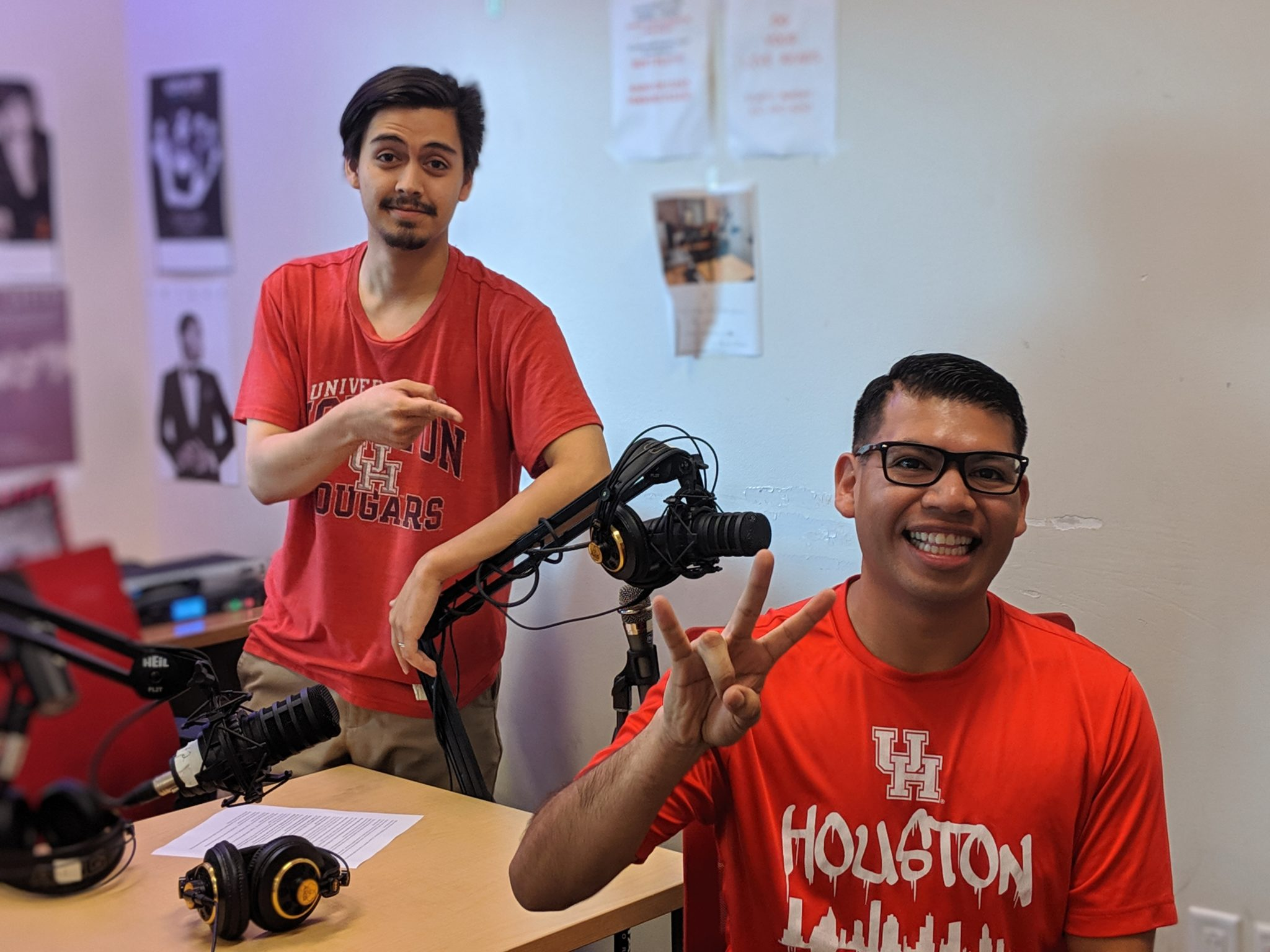 "Coog Radio Interviews: Edwin Mascorro, ""Most Spirited Coog"" Winner"