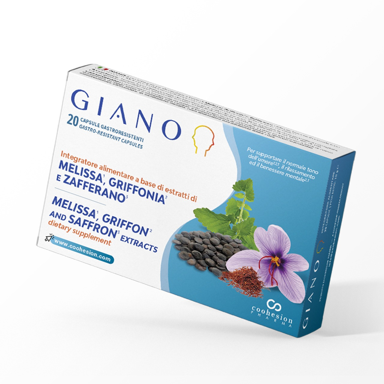 Giano - Natural antidepressant and anxiolytic
